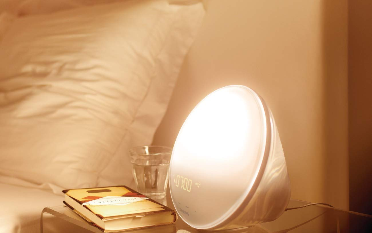 Philips light up alarm clock gift ideas for parents