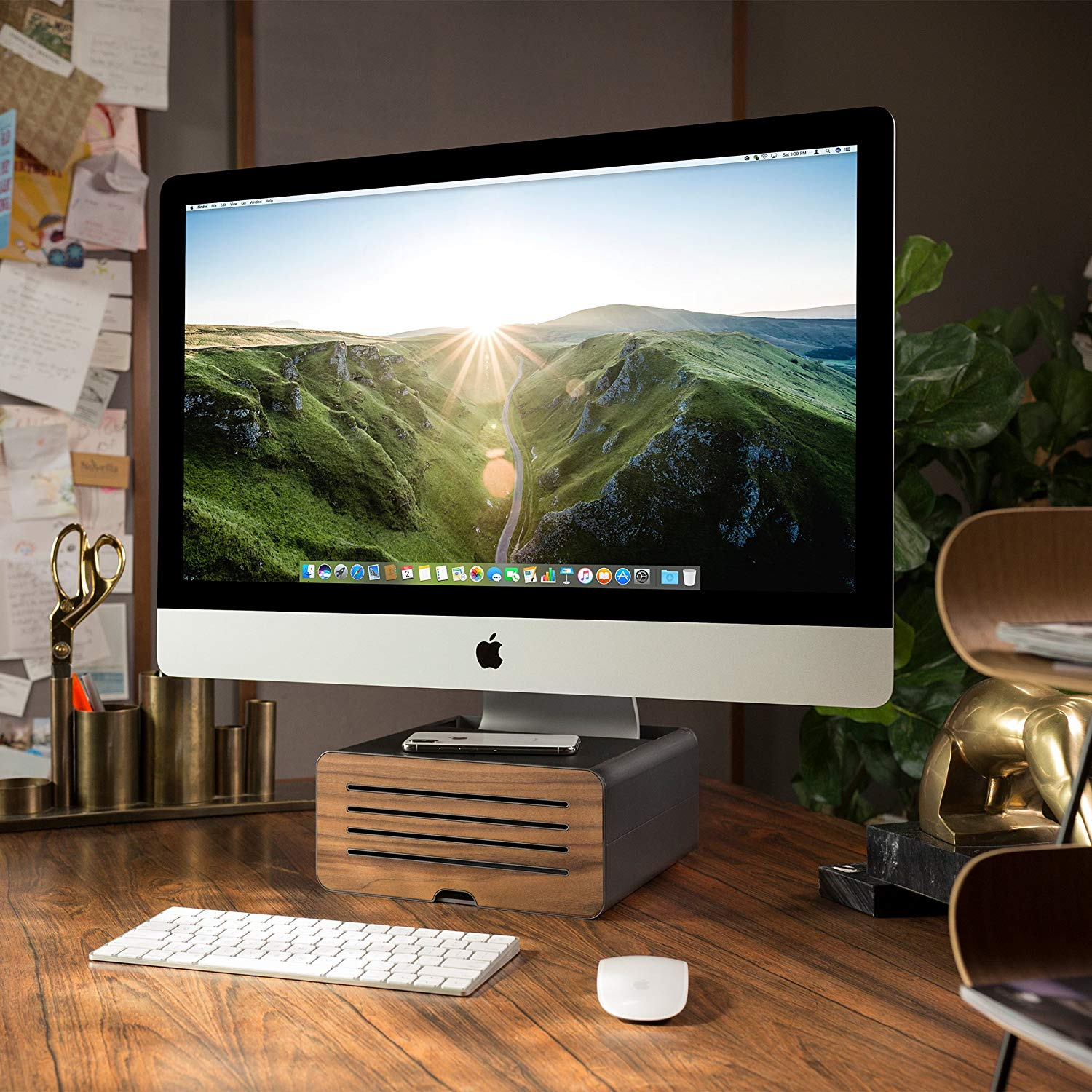 a beautiful stand for your desktop display Great Mac gifts and accessories