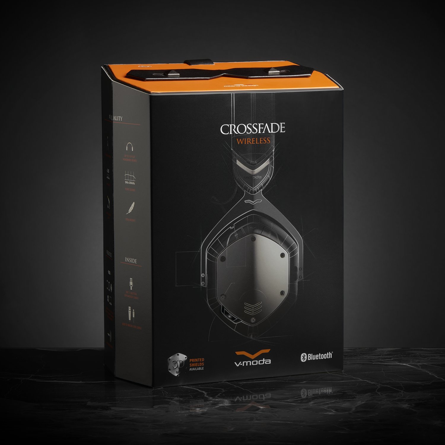 v moda crossfade wireless headphones