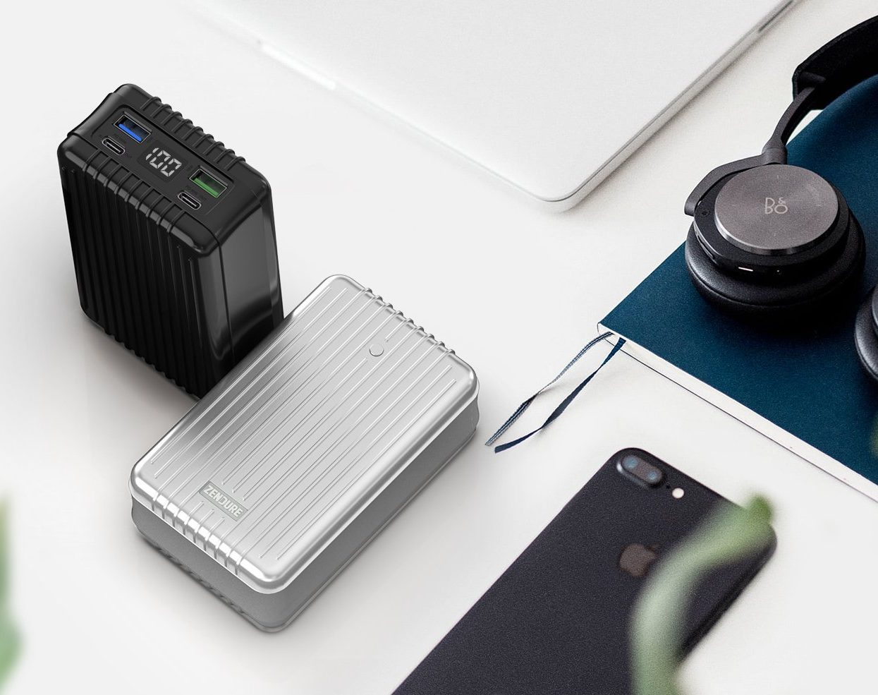 a portable battery pack that charges your Mac