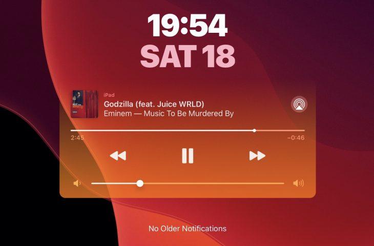 CustomPlayer cho phép bạn tô màu tiện ích iOS Now Now Playing 6