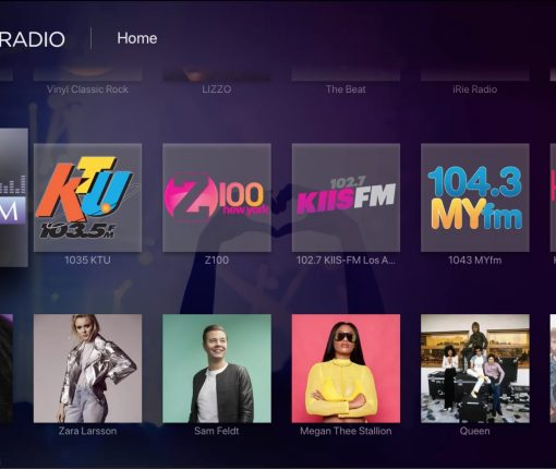Apple TV Radio Apps - iHeartRadio