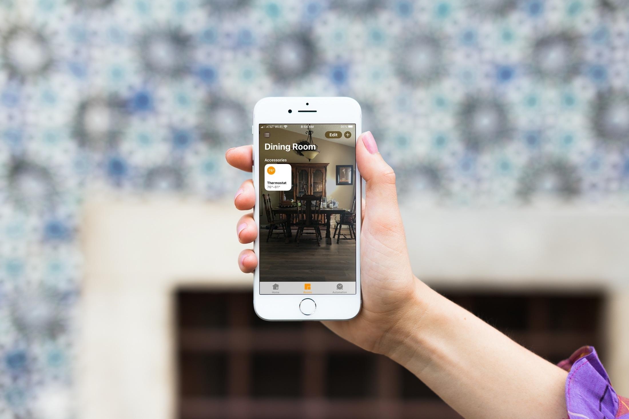 Change Home app wallpaper