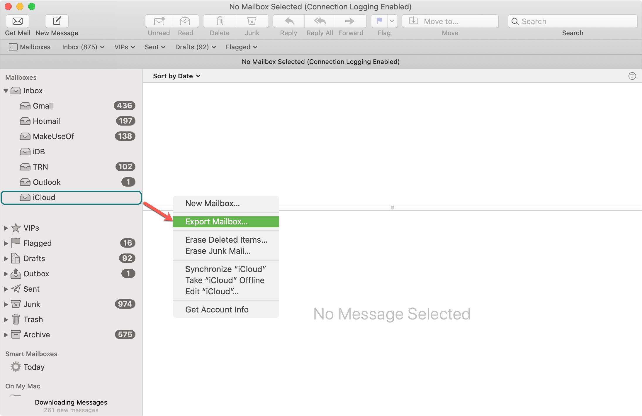 Mailbox Export Mac