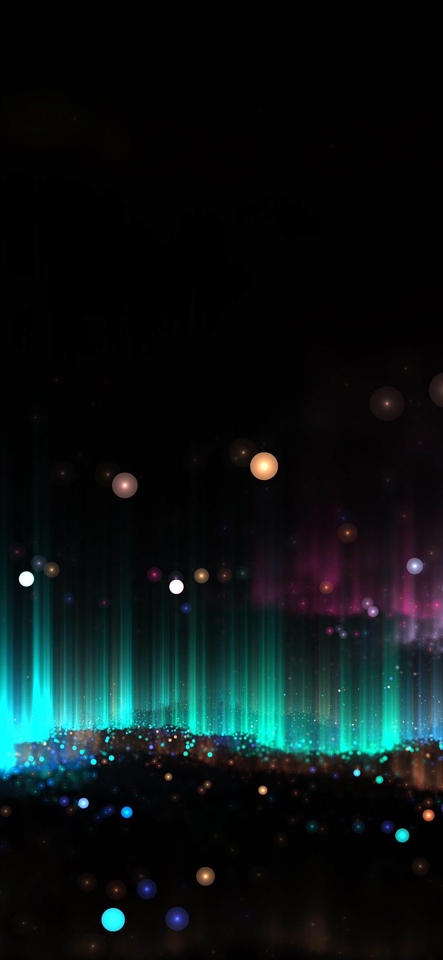 OLED space wallpaper iphone idownloadblog abstract
