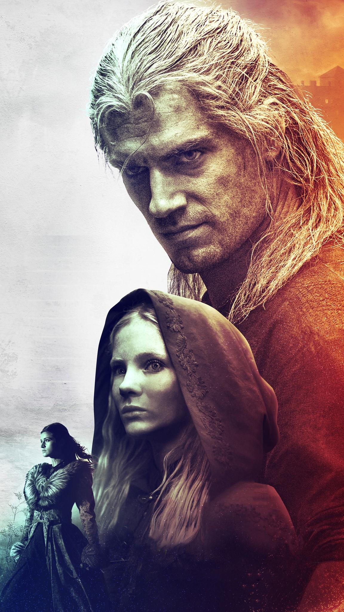 The Witcher iPhone wallpaper idownloadblog Geralt Ciri Yennifer