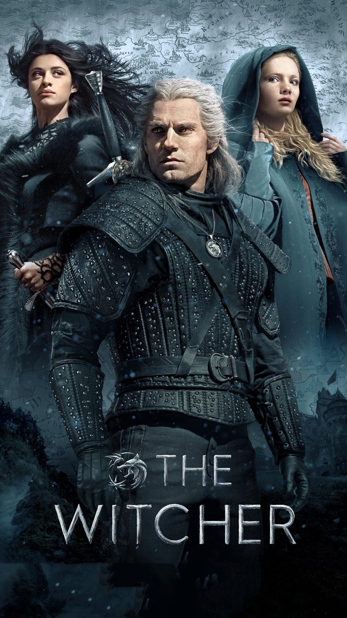 The Witcher iPhone wallpaper idownloadblog Geralt Yennifer Ciri