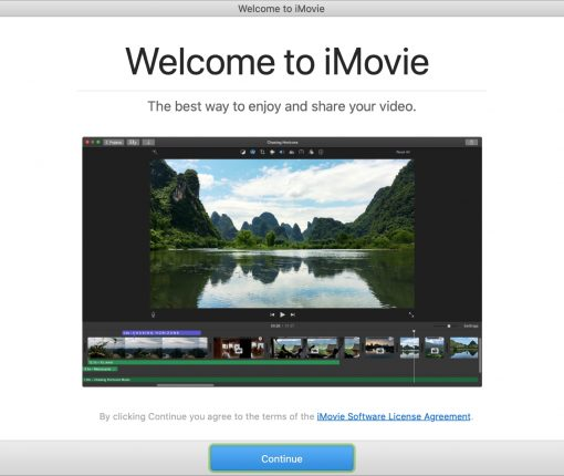 Welcome to iMovie Mac