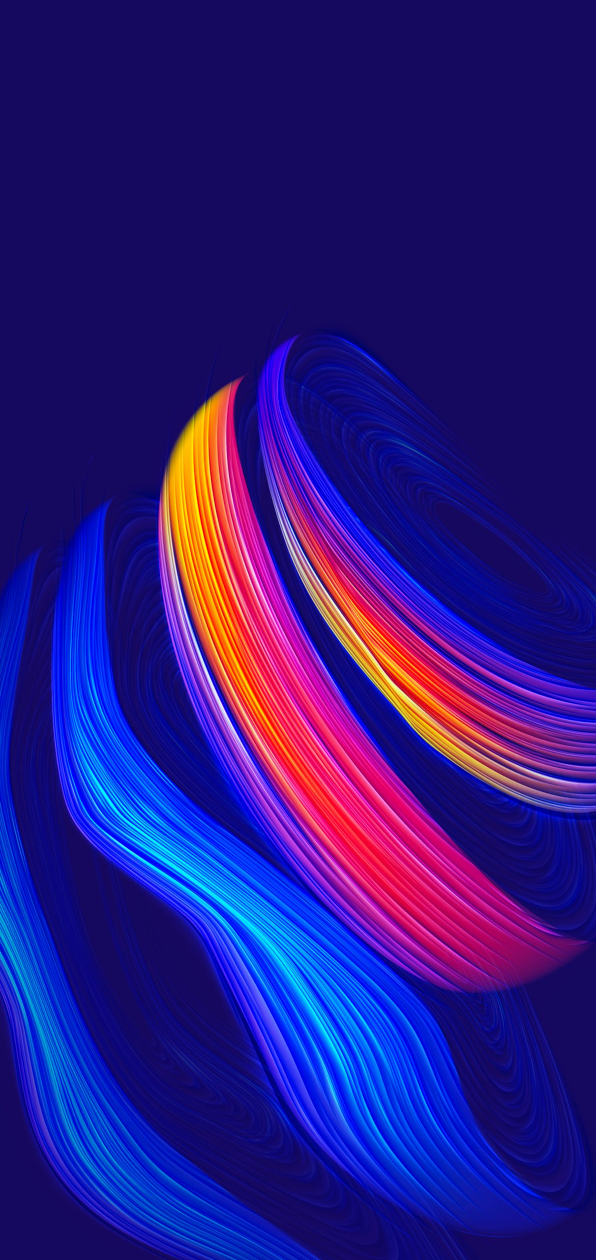 Abstract Curves iPhone wallpaper idownloadblog ieditwalls 2
