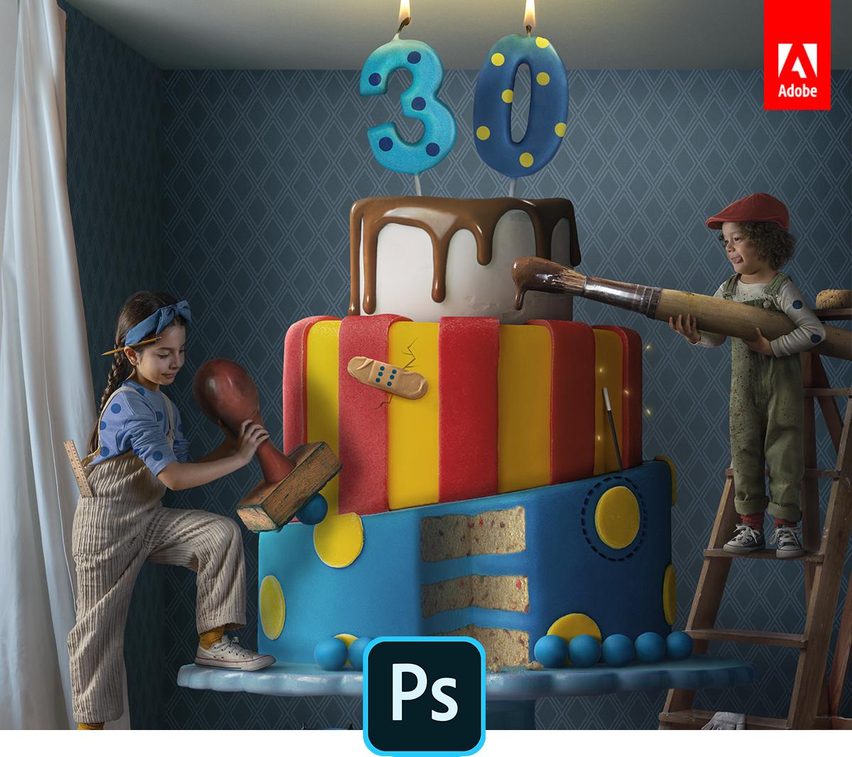 Adobe, masaüstü və iPad üçün Photoshop-a yeni xüsusiyyətlər gətirir 2