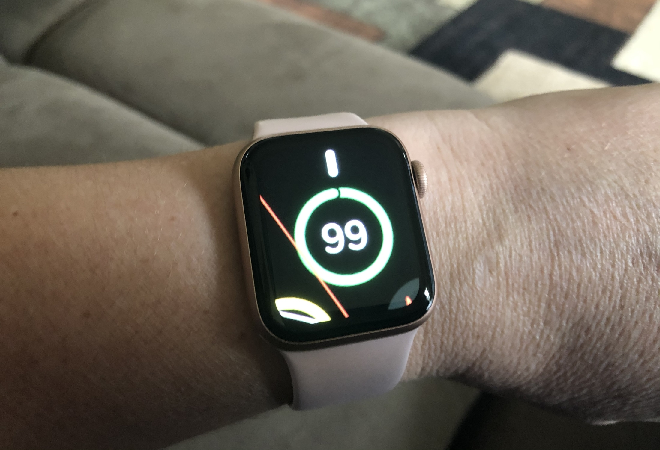 Apple Watch Zoomed In Face