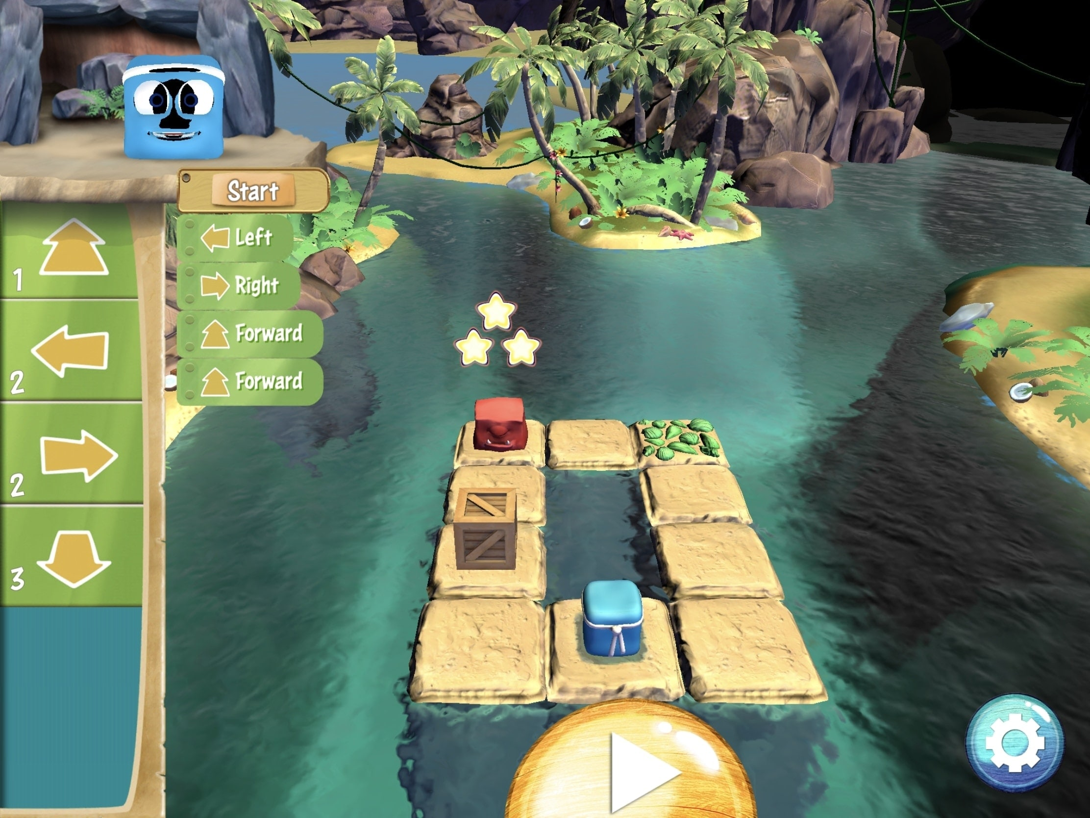 Box Island on iPad