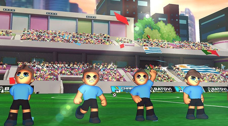 This week's new arrival on Apple Arcade is Charrua Soccer