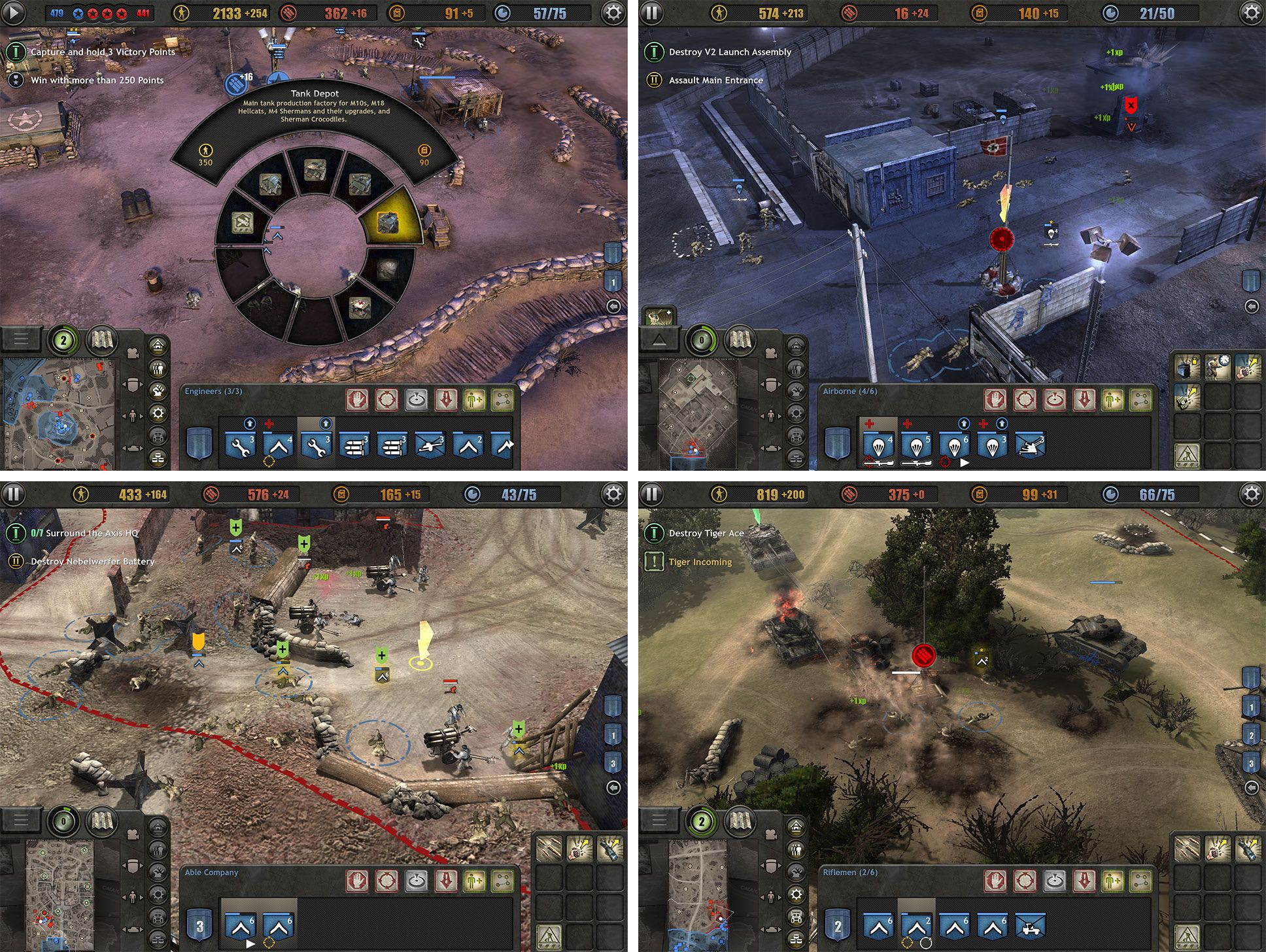 World War Ii Real Time Strategy Game Company Of Heroes Is Now Available On Ipad