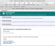 Conversations in the Mail app Mac