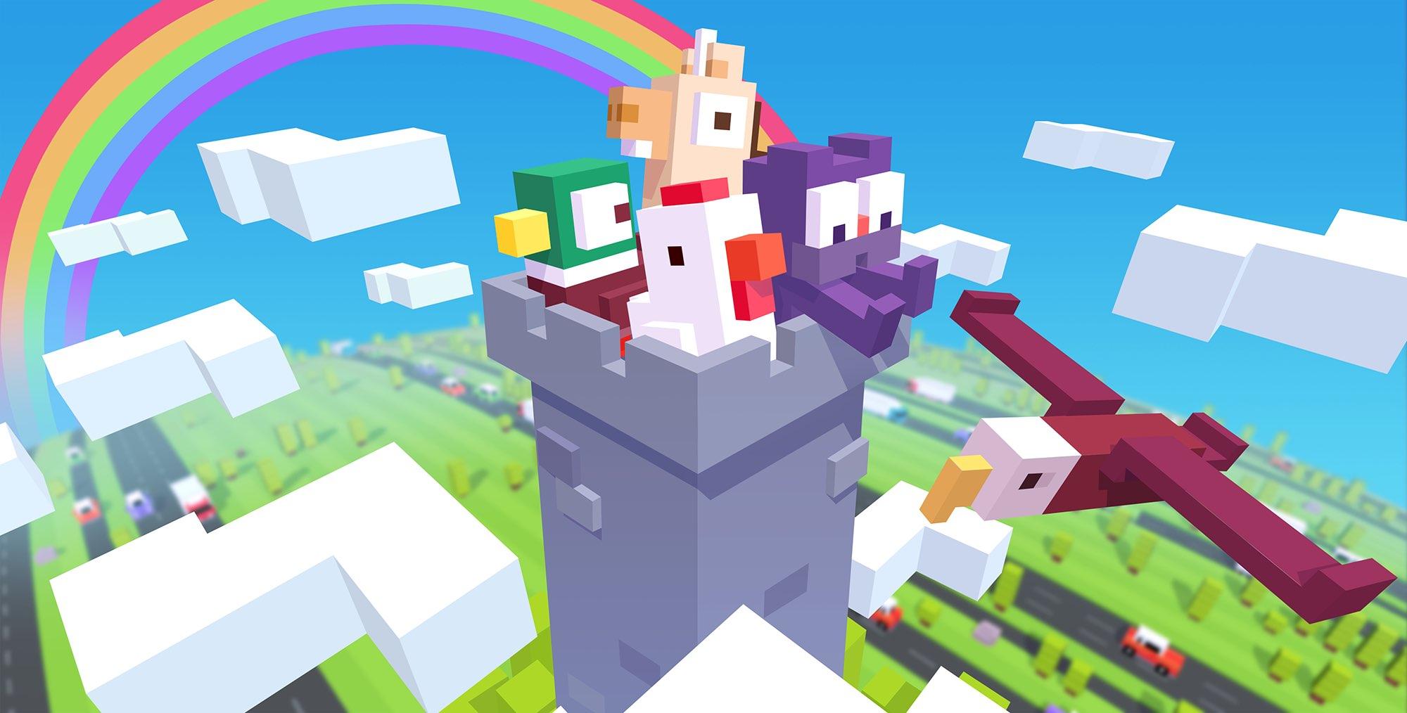 Platformer Crossy Road Castle arrives on Apple Arcade
