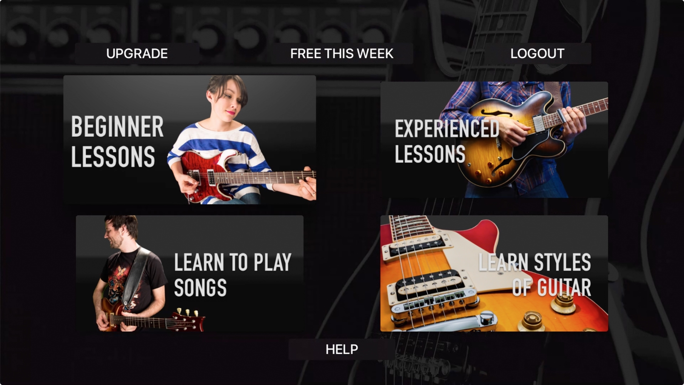 Guitar Lessons - Guitar Tricks Apple TV