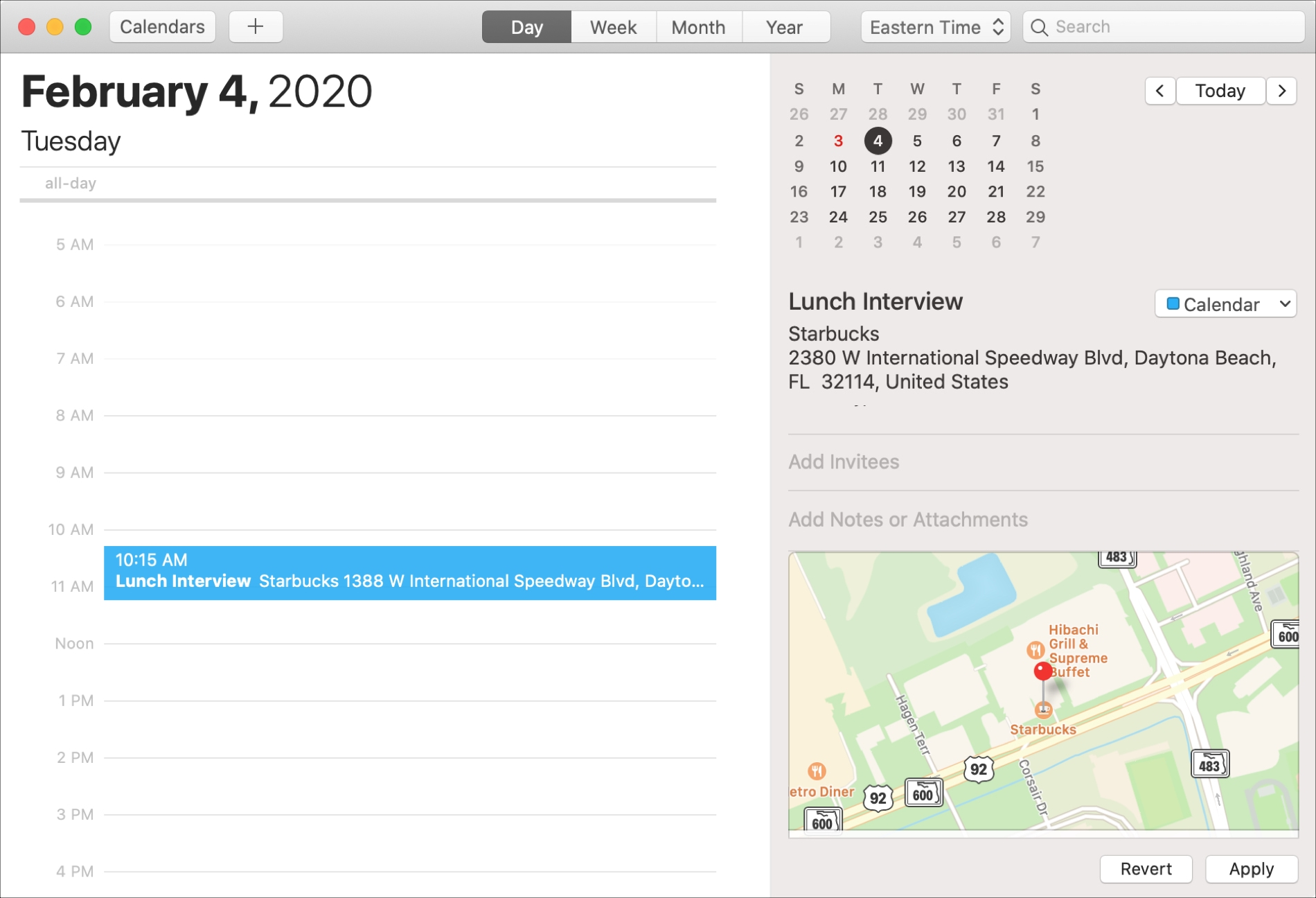 Mac Calendar With Location on Map