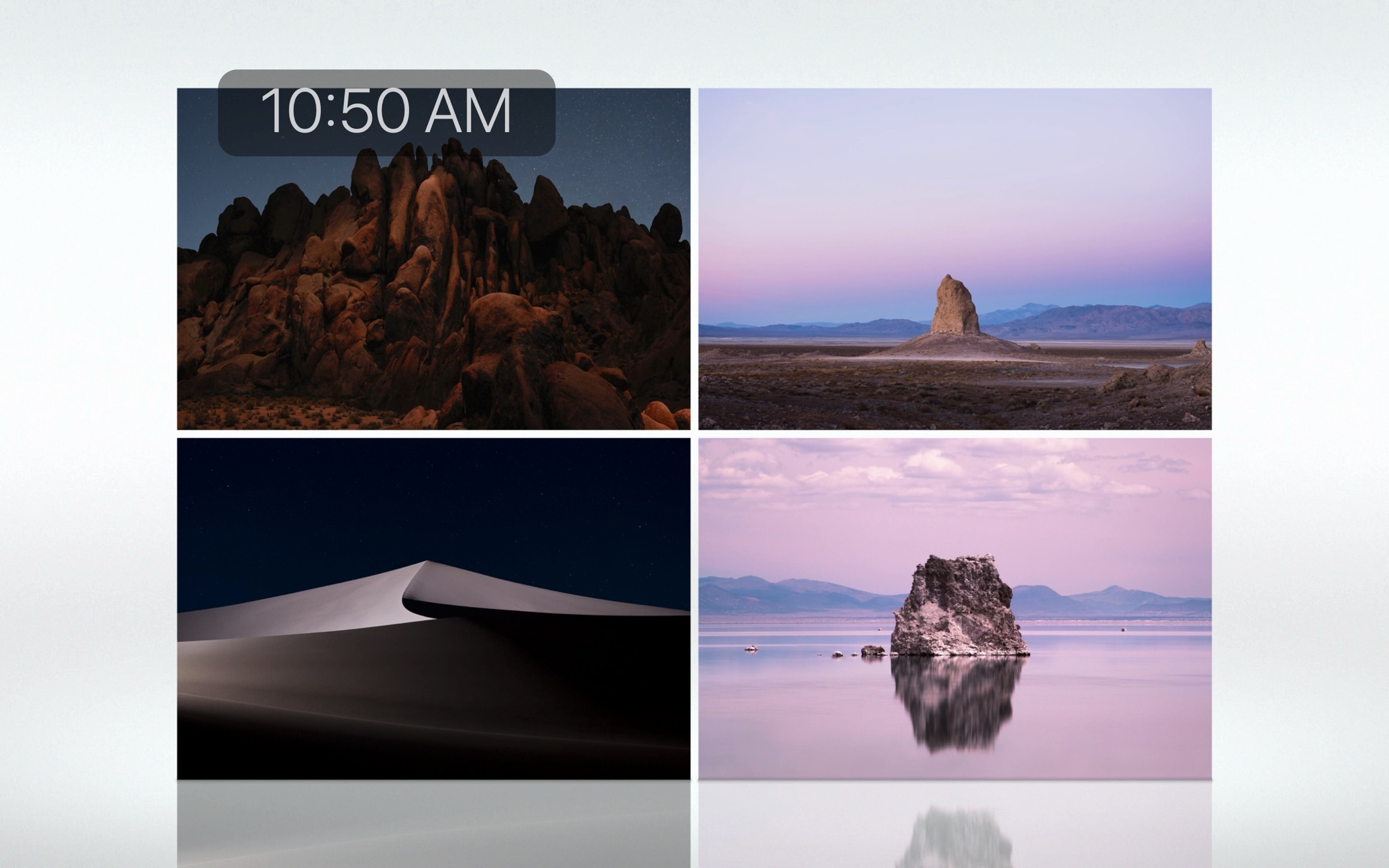 Mac Screen Saver Relfections Landscape