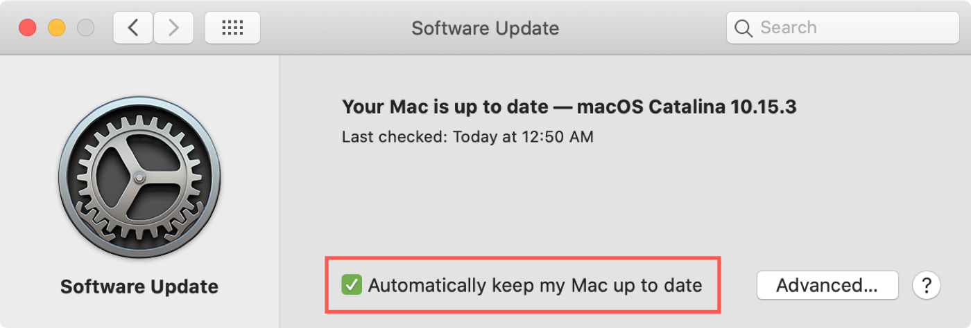 Software Update Keep Mac Up To Date
