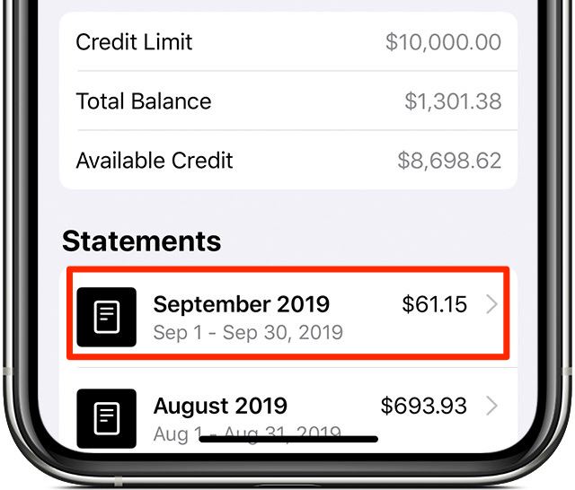 How to export Apple Card transactions as a CSV spreadsheet
