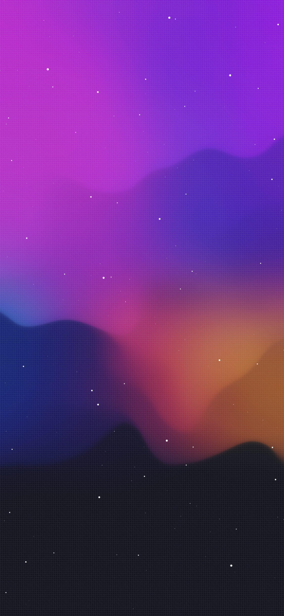 smooth vector iphone idownloadblog wallpaper notforyou666 purple organge galaxy