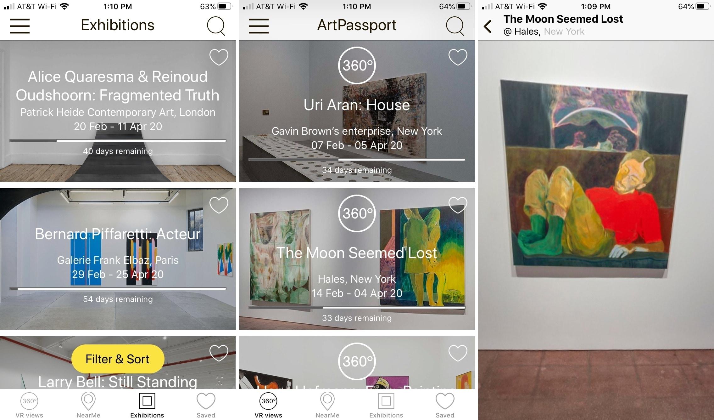 ArtPassport en iPhone