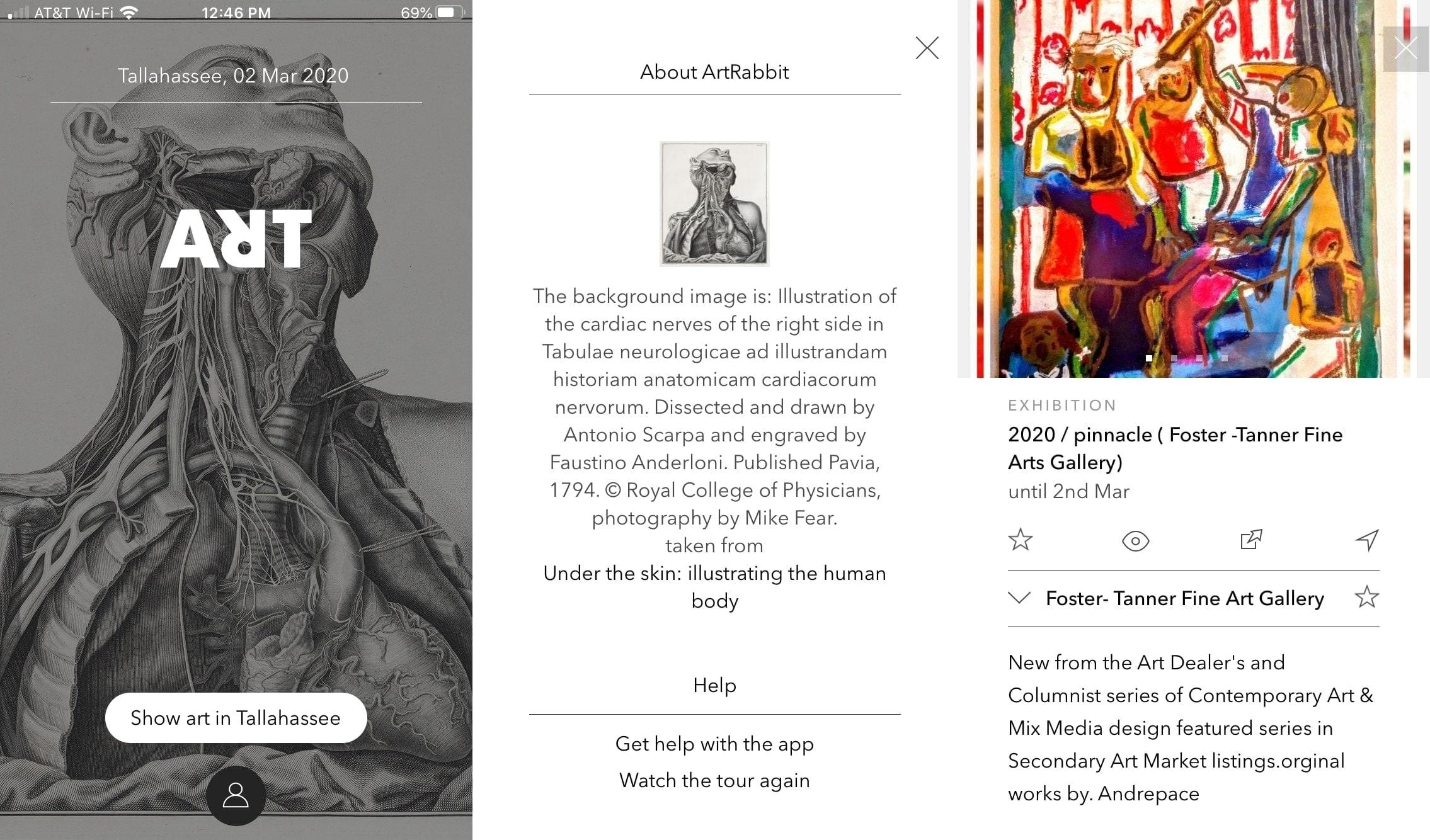 ArtRabbit en iPhone