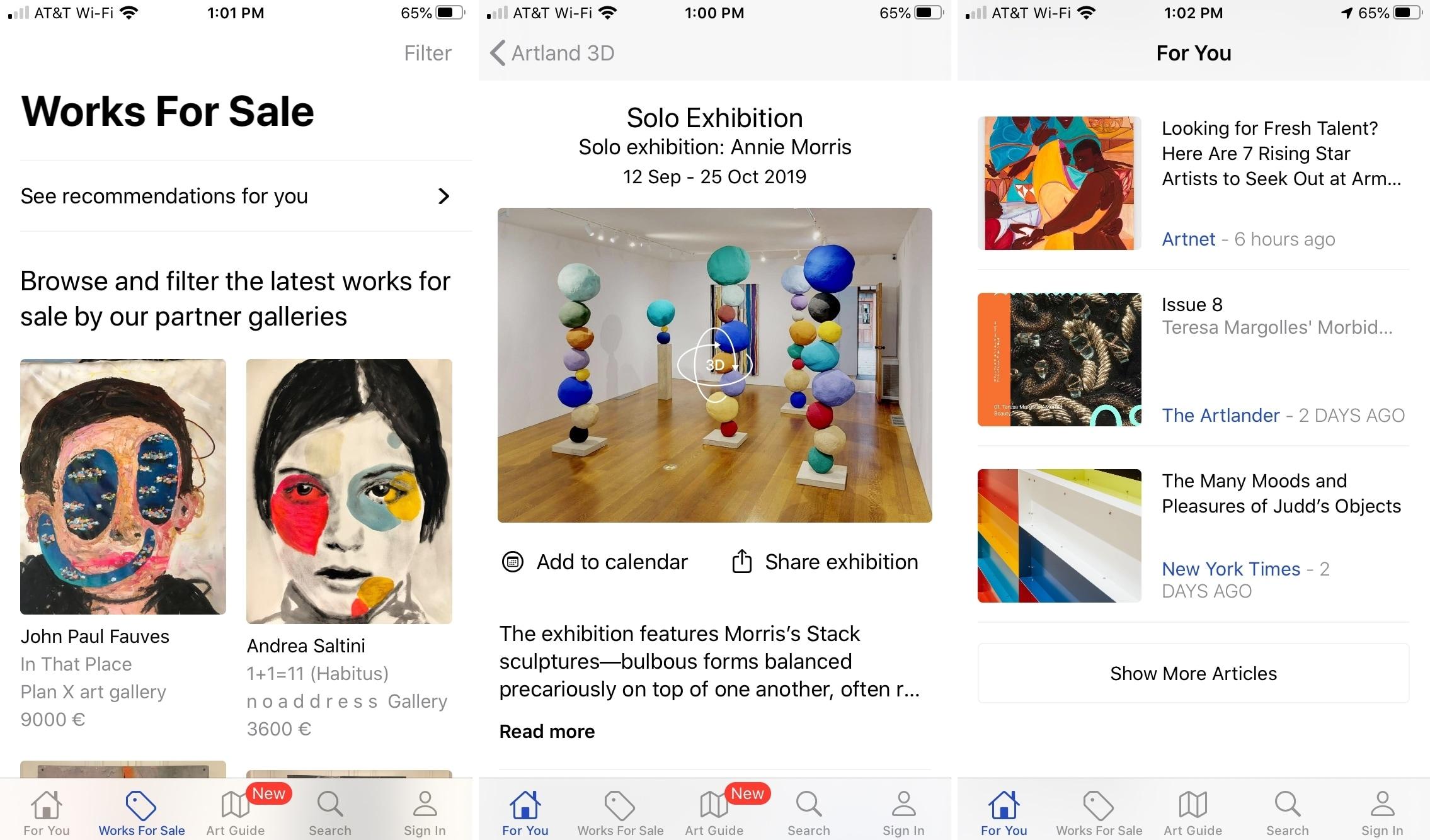 Artland en iPhone