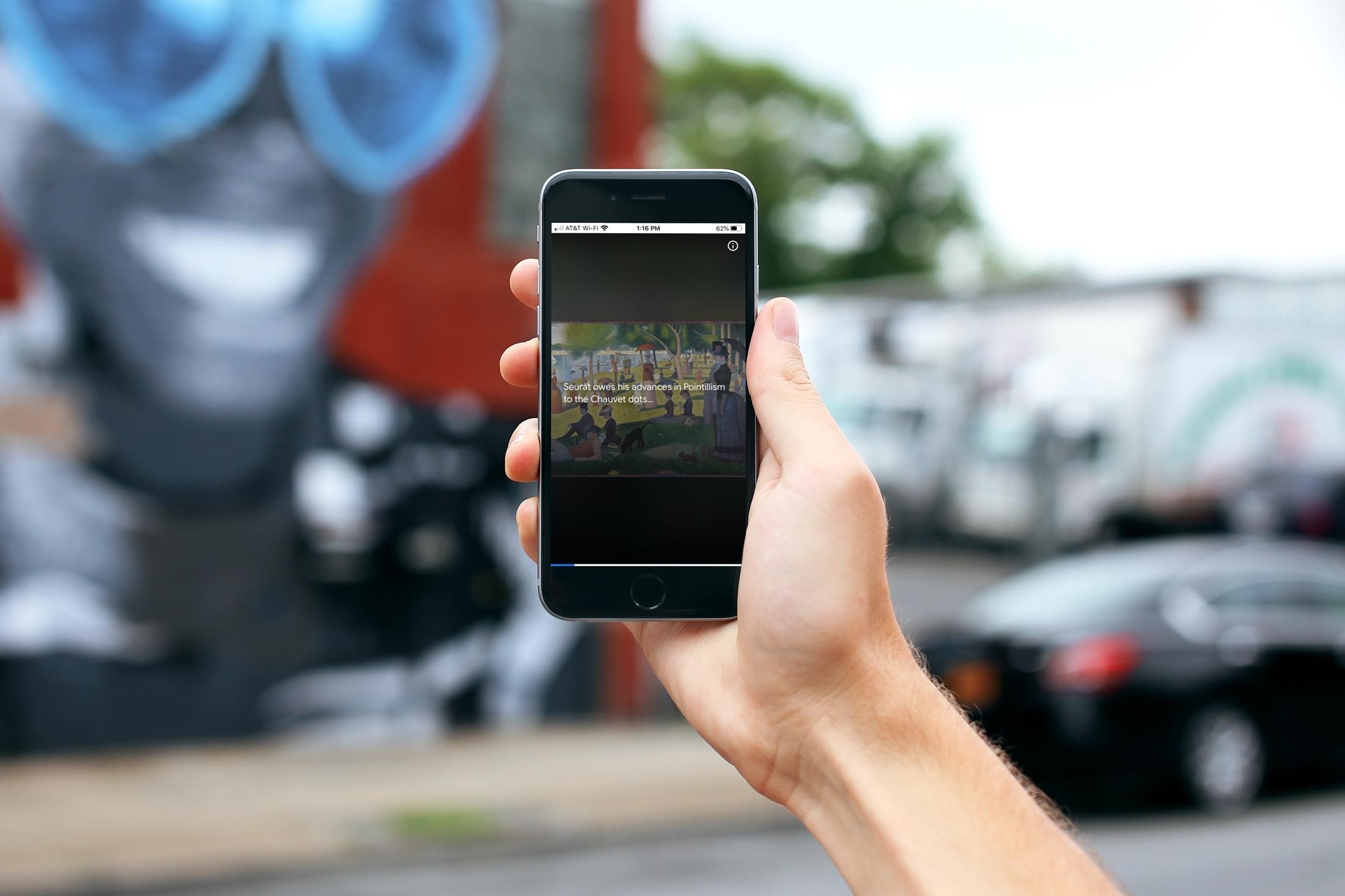 Las mejores aplicaciones para los amantes del arte - Google en iPhone