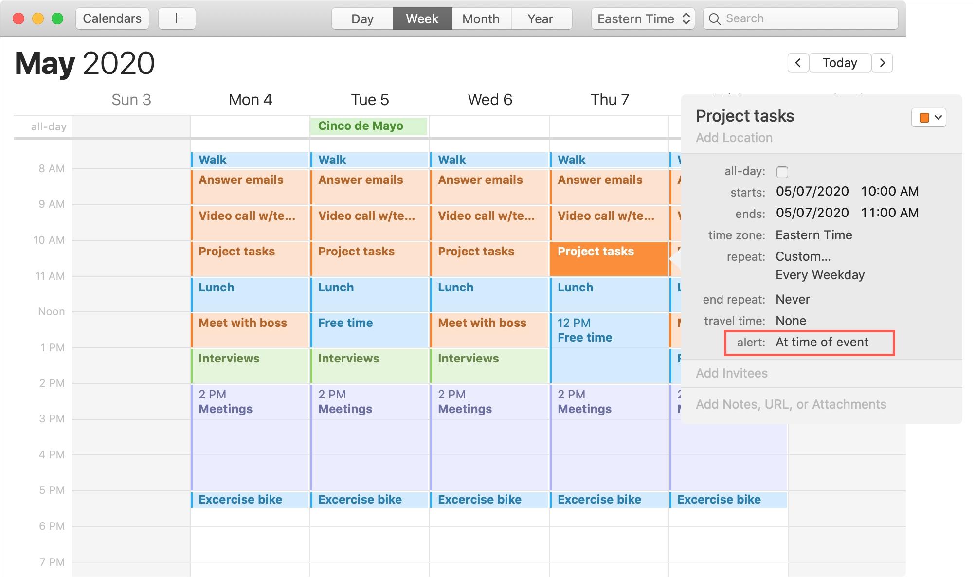 Calendar Mac Repeat Event Alert