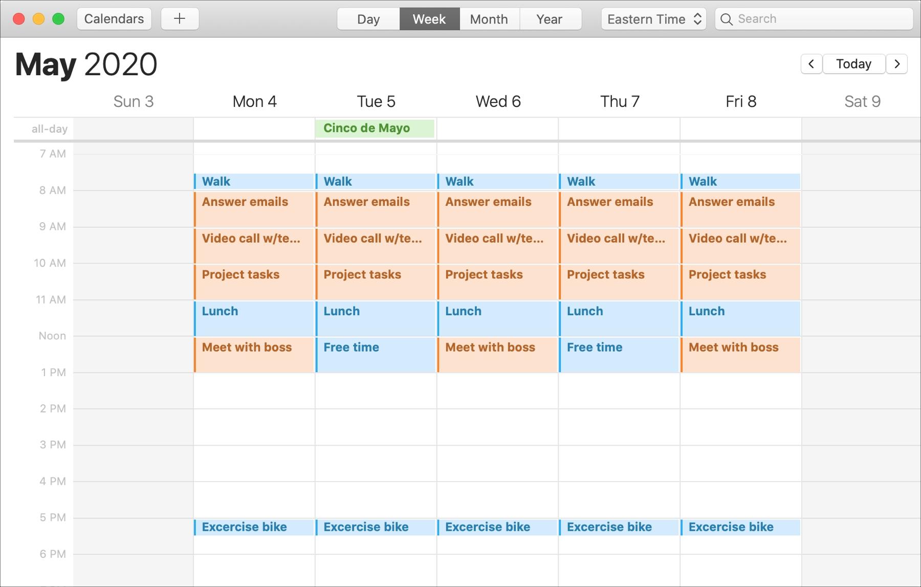 Calendar Mac Time Block Continue