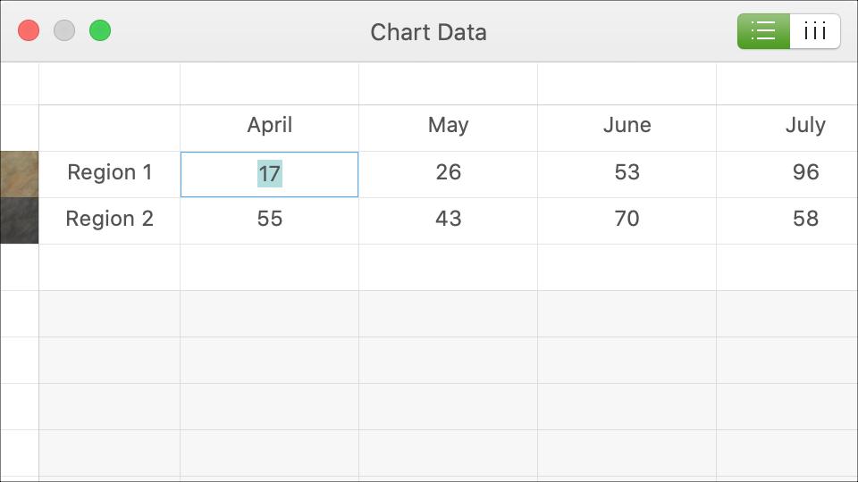 Chart Data Keynote Mac