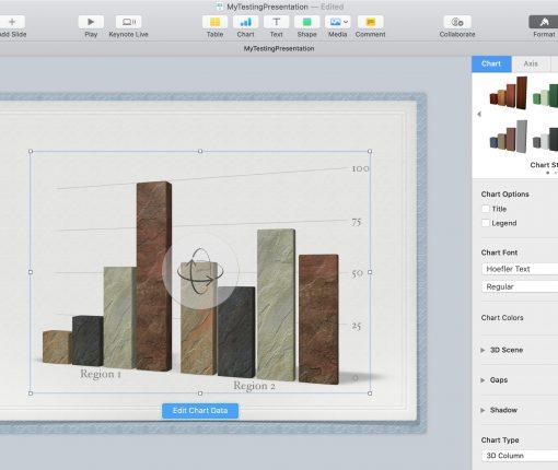 Chart Format Tab Keynote Mac