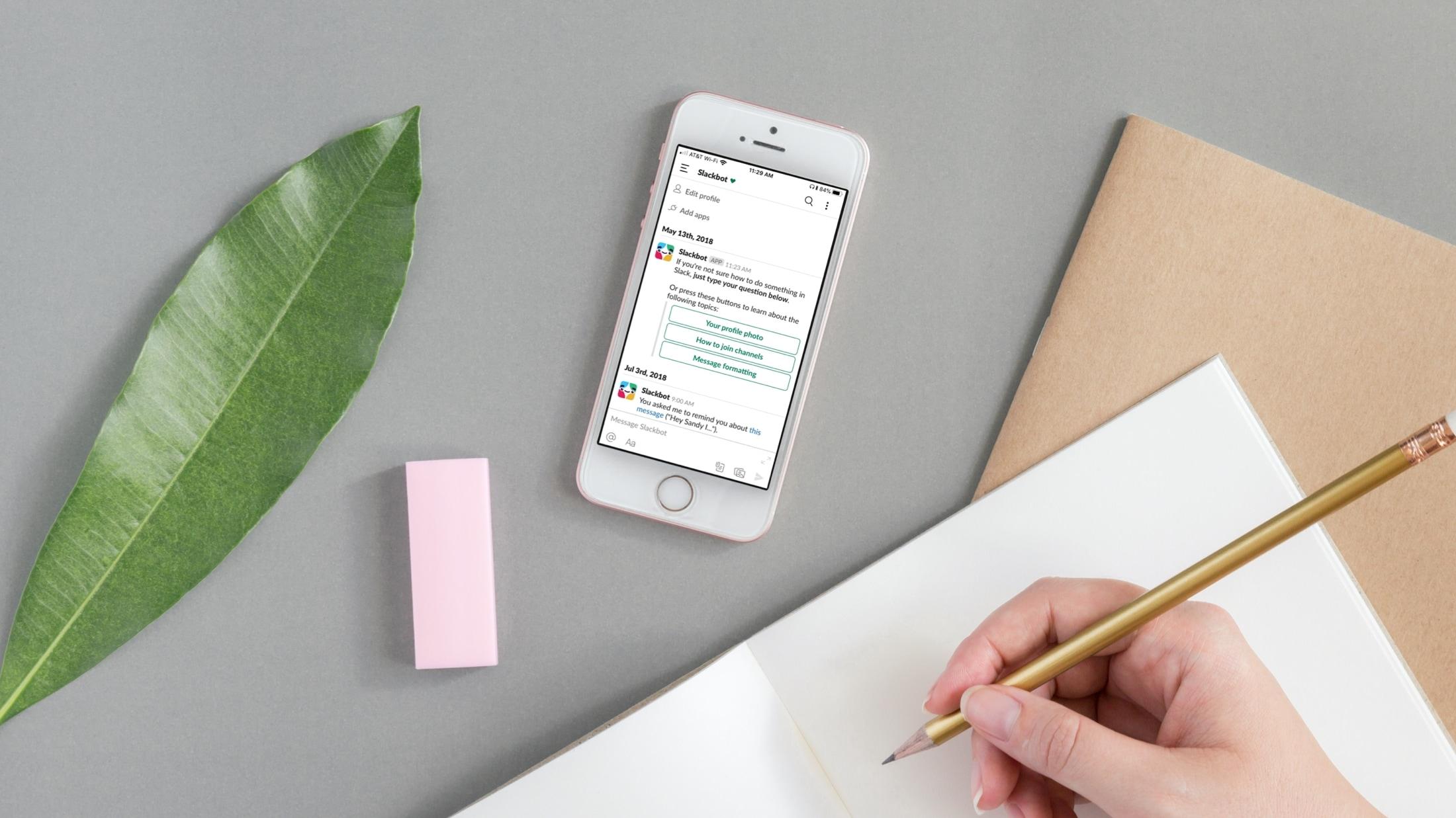 Aplicaciones de comunicación para equipos - Slack