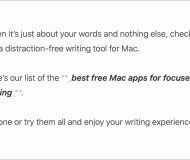 Distraction-free writing apps for Mac - Paper