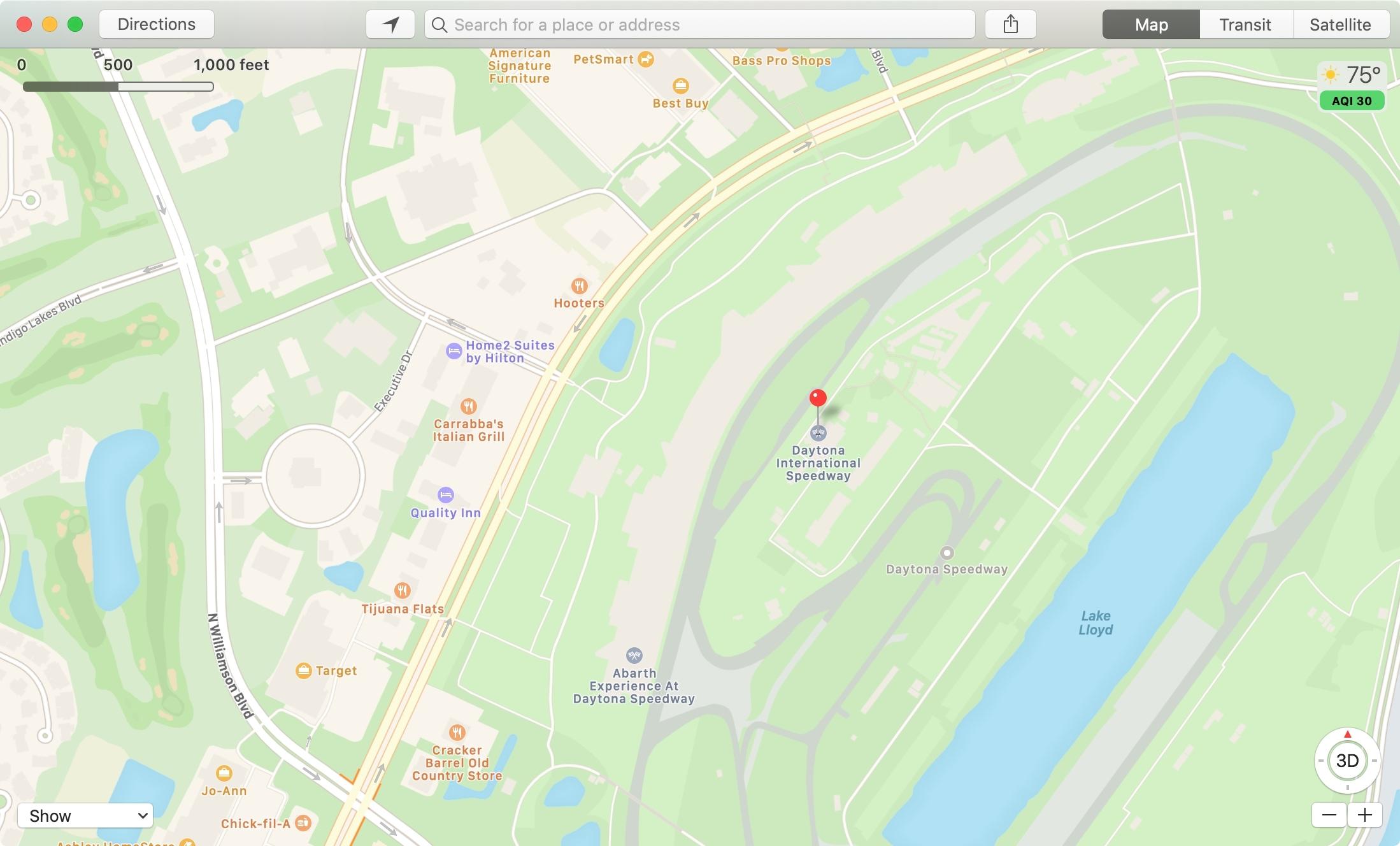 Maps for PDF DB Speedway