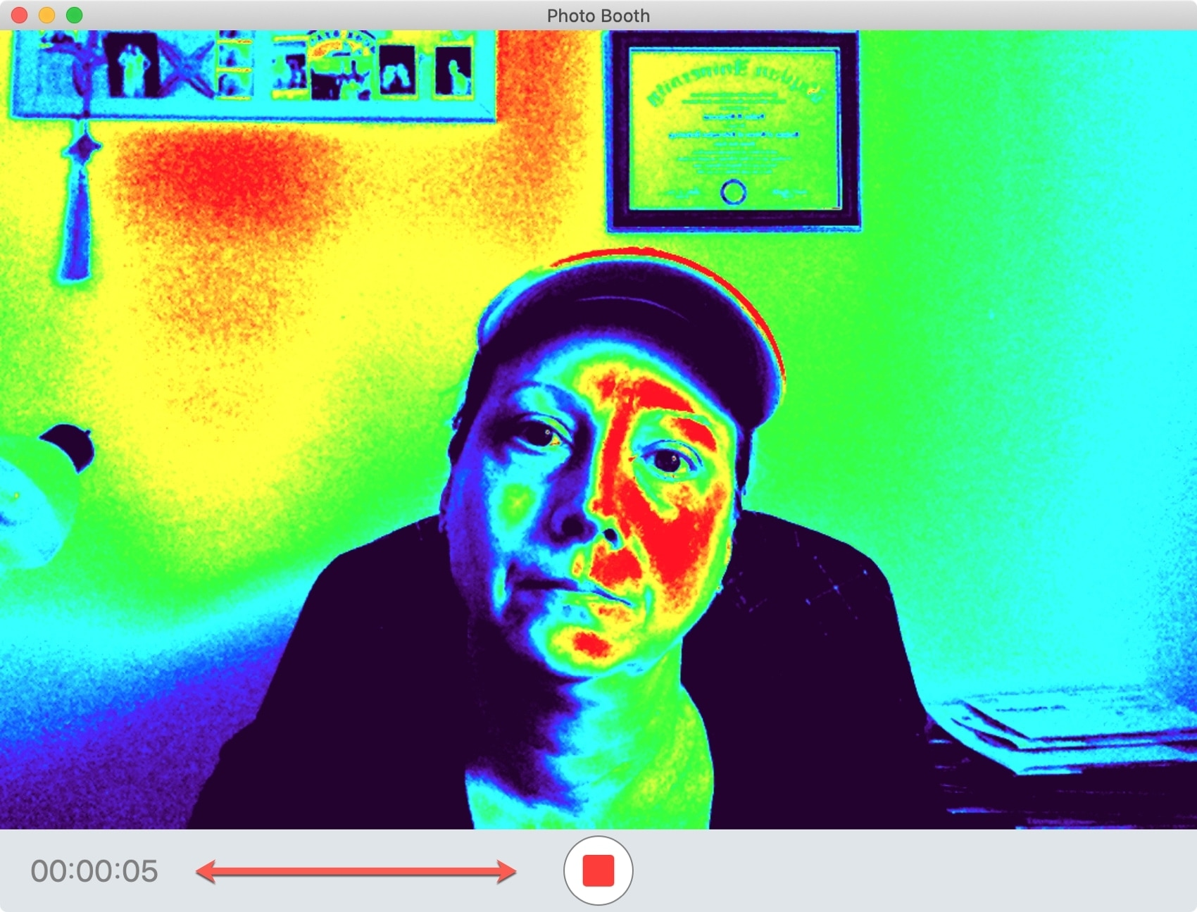 Photo Booth Video on Mac
