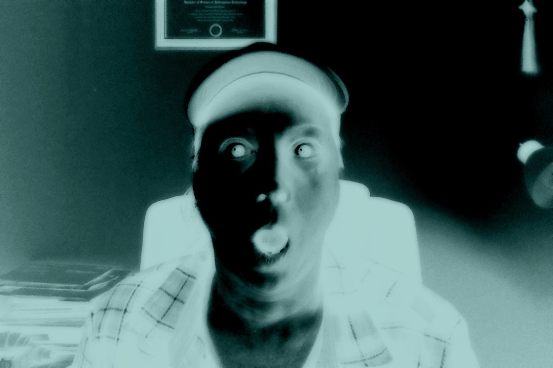 Photo Booth Xray on Mac