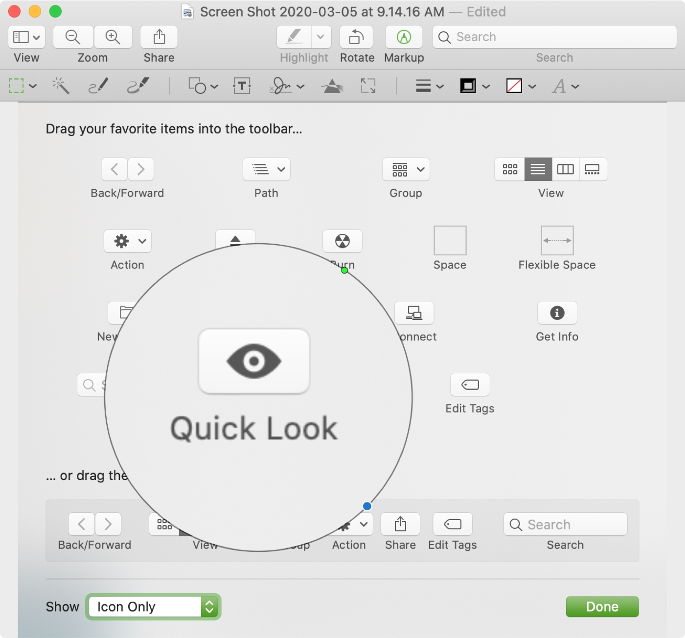 Preview Add Loupe Mac