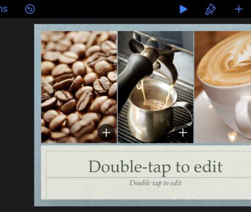 Set Up Keynote Slideshow iPhone