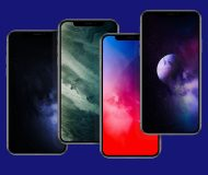 Space Fantasy iPhone Wallpaper iPhone 11 Pro Max iDownloadBlog AR72014 mockup