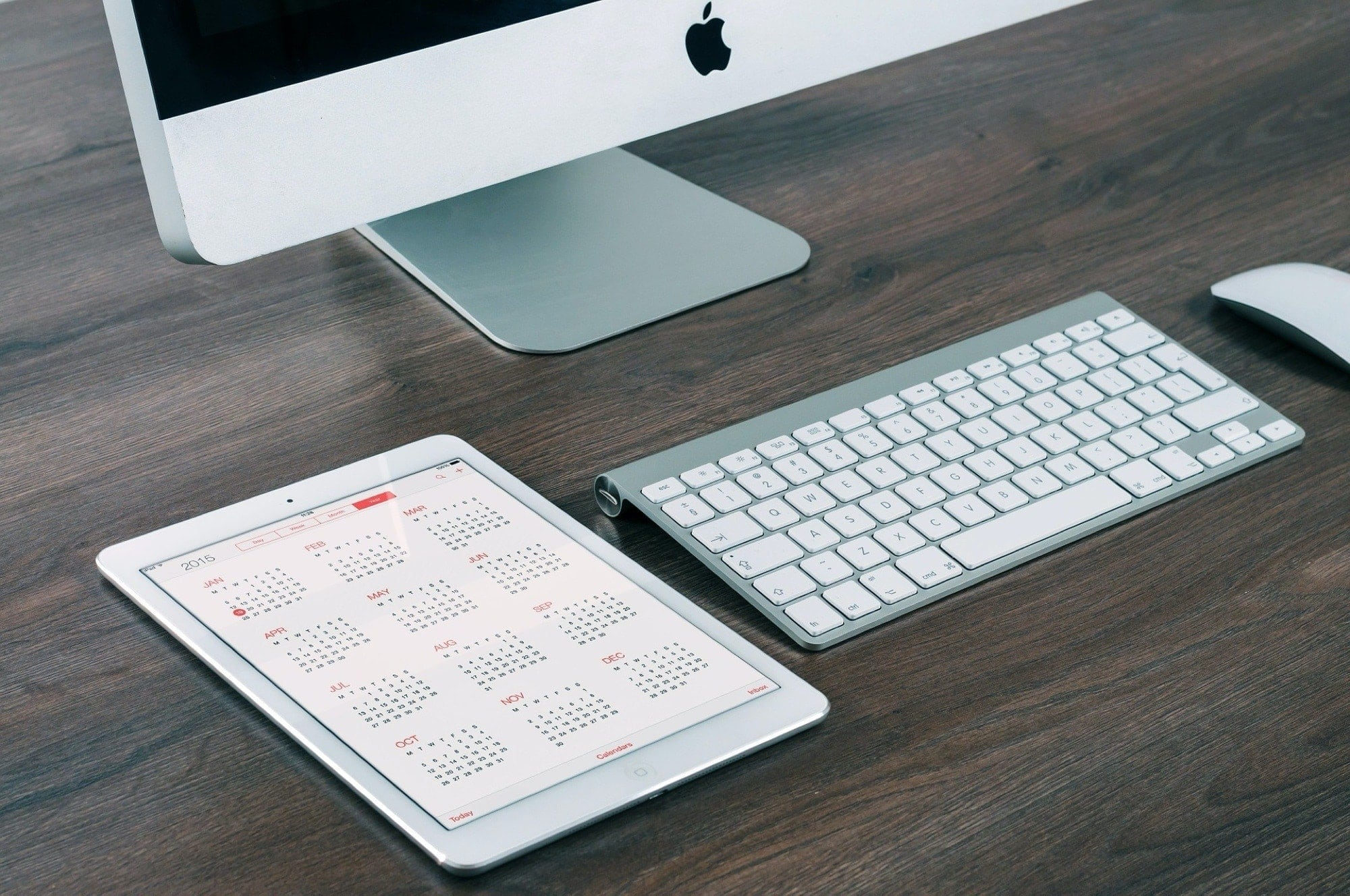 iMac keyboard iPad Calendar - Calendar keyboard shortcuts