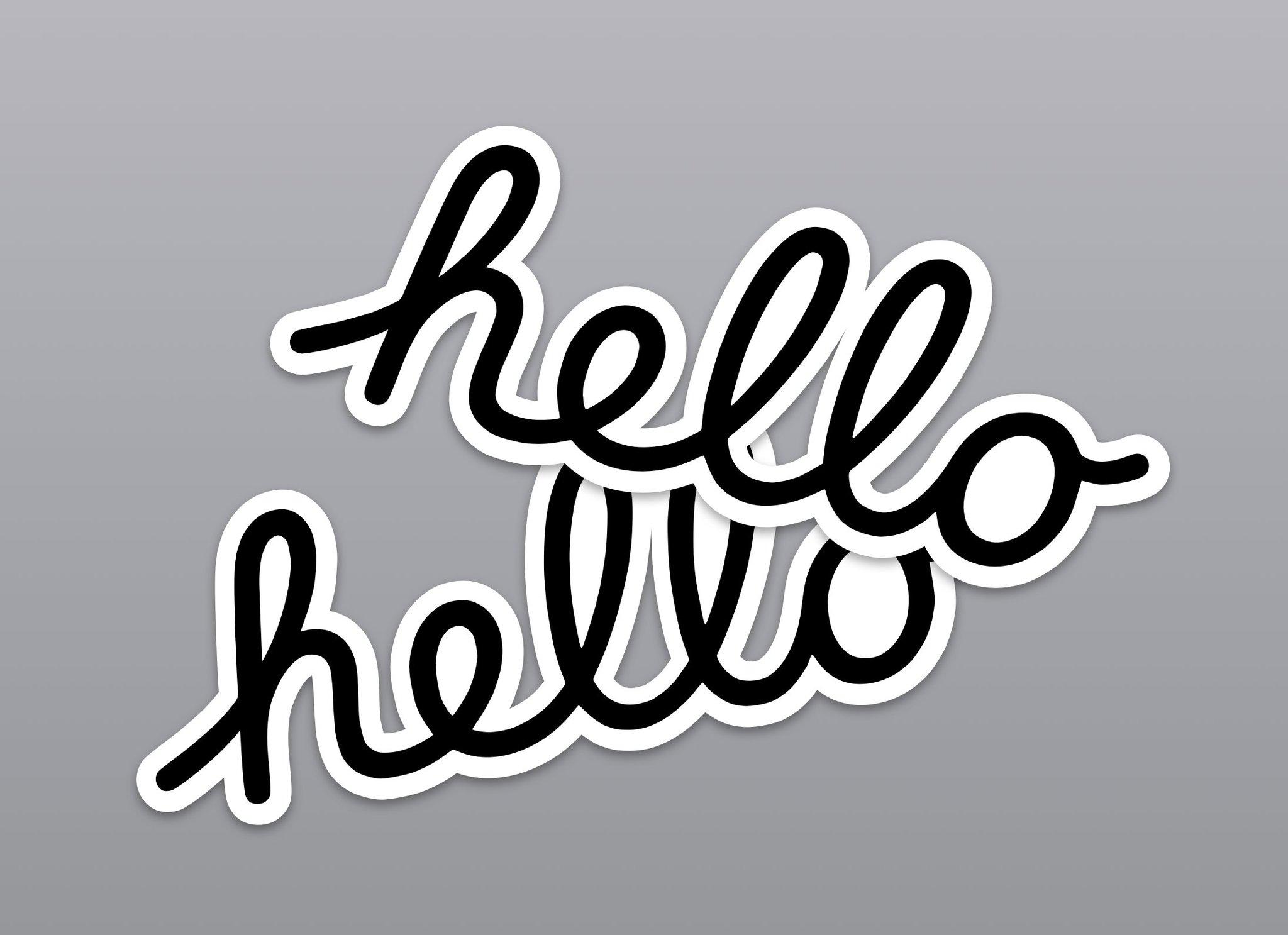 sticker wwdc 2020 wallpaper-ipad basvanderploeg idownloadblog hello