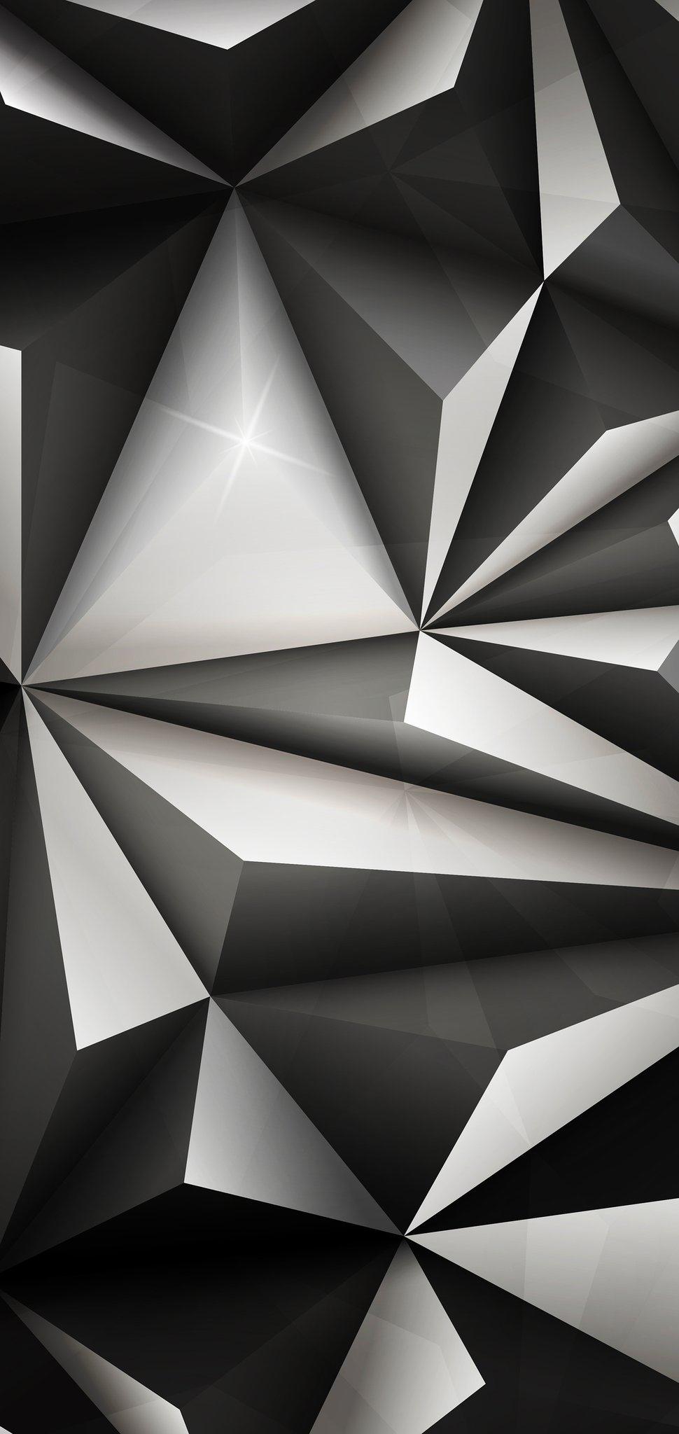 Abstract geometric iPhone wallpaper ieditwalls iDownloadBlog 3