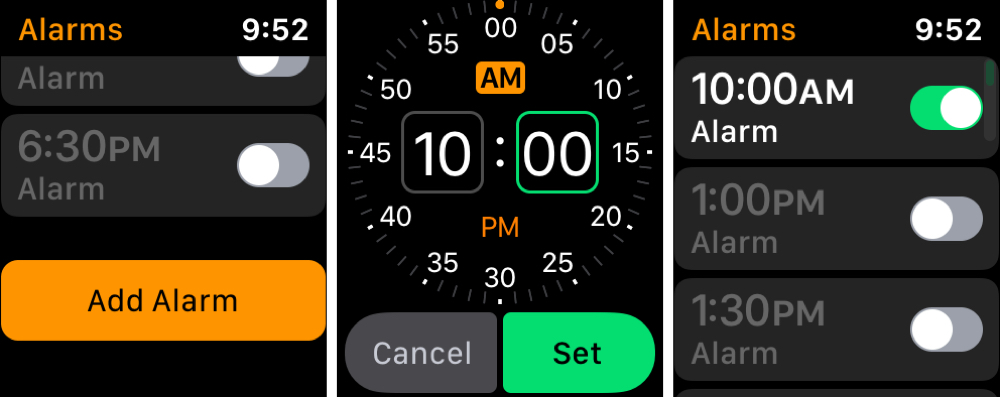 Add Alarm App on Apple Watch