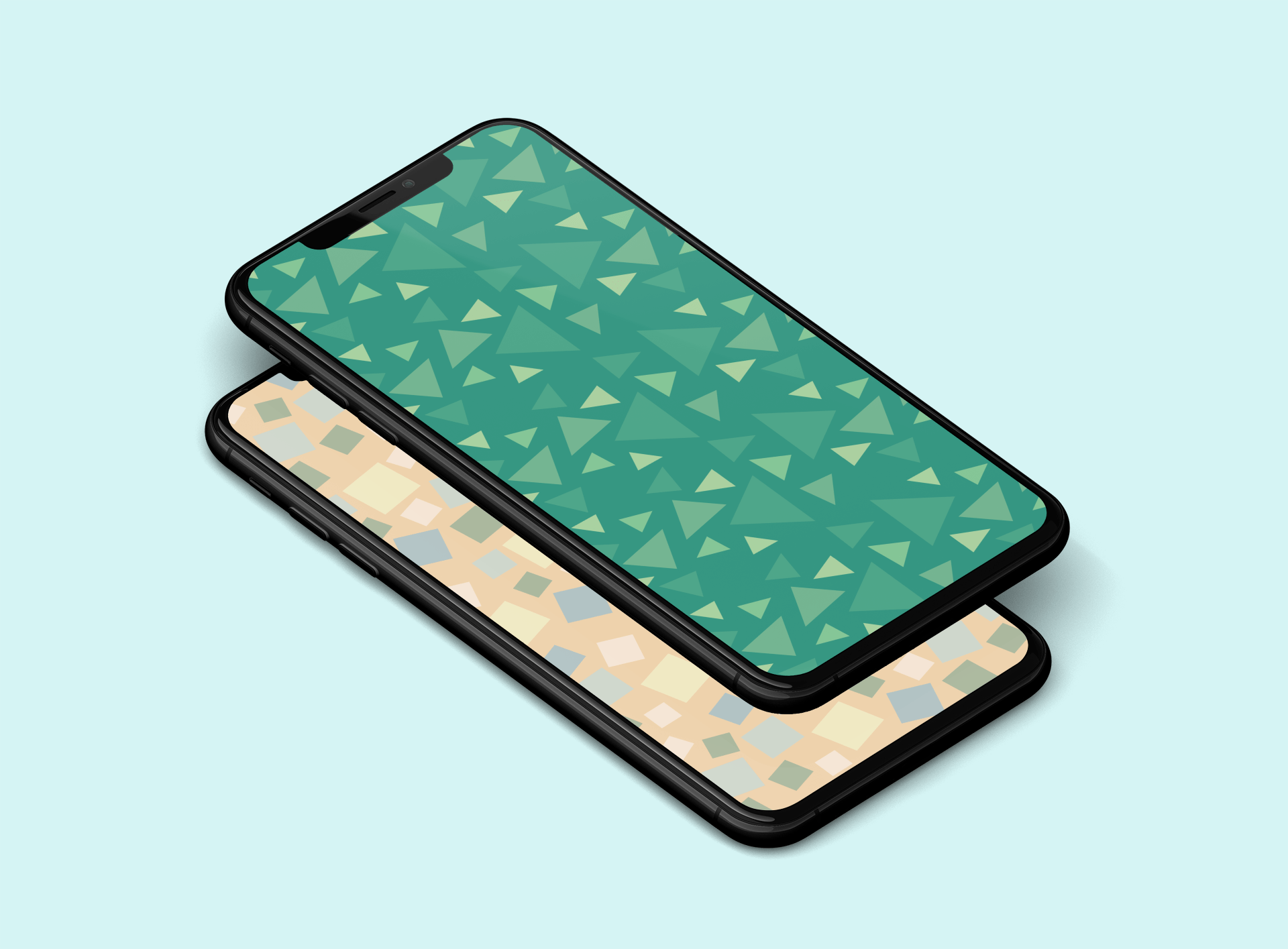 Animal Crossing iPhone wallpaper Matt MacPherson iDownloadblog mockup