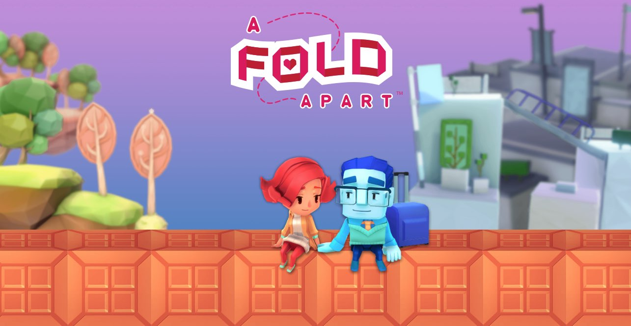 """Apple Arcade gains a pair of new titles, """"A Fold Apart"""" and """"Beyond Blue"""""""