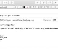 Compose Email Template Mac Mail