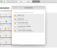 Create Home Automation on Mac
